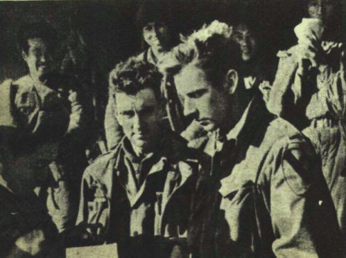 American POWs captured after the Battle of Unsan.