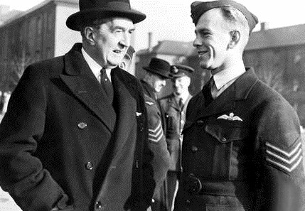 Fuller (right) with Australian High Commissioner, Stanley Bruce, in London in 1941 Image Source: Wikipedia / Public Domain