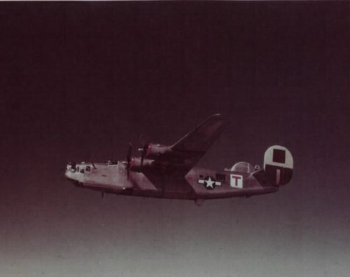A B-24 Liberator from the 464th Bomb Group