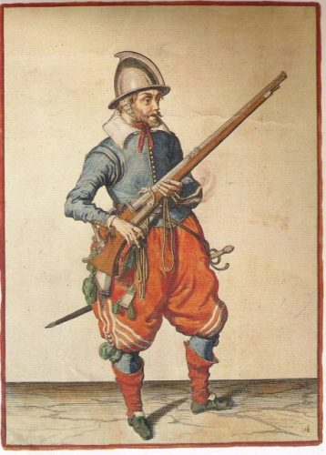 Dutch Musketeer, 1608