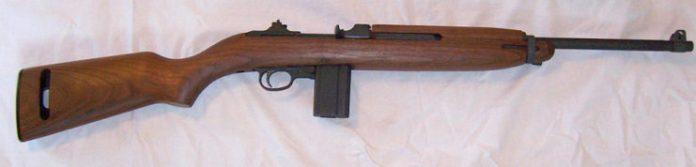 An M1 Carbine.