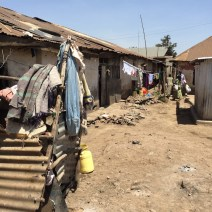 Slum in Kisumu