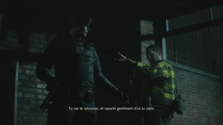 aperçu Resident Evil 2 Remake apparition de Kendo