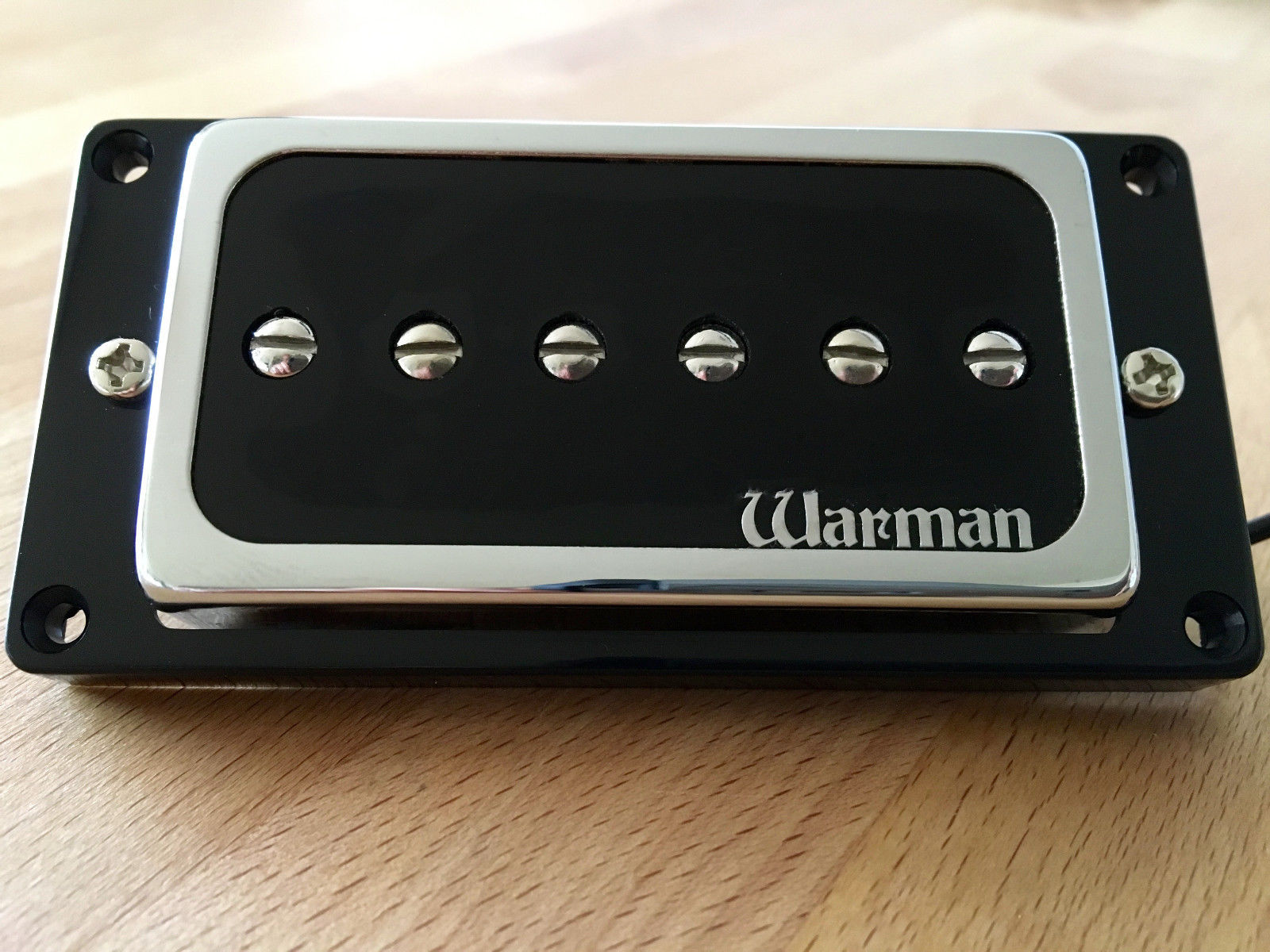 Hbp90 Neck Position Only P90 Voiced Humbucker Sized Retrofit Warman Pickup Wiring Diagram Pickups