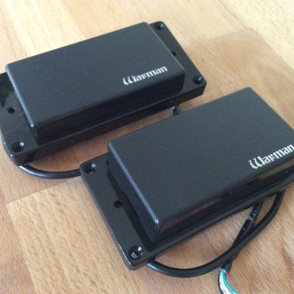 Warman Stealths. High output passive electric guitar pickups