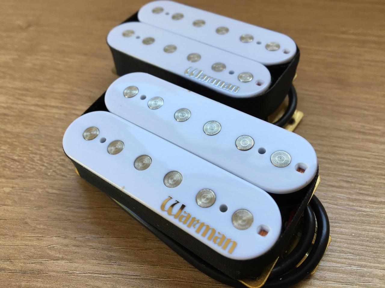 Warman Guitars Lil/' White Devils Matched pair of humbucking pickups 11.5 kOhm
