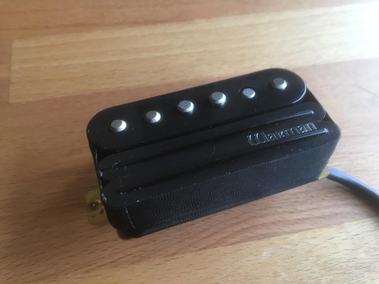 G Rail Hybrid Ceramic Humbucker And Alnico Single Coil Black Warman Pickup Wiring Diagram 3 Electric Guitar