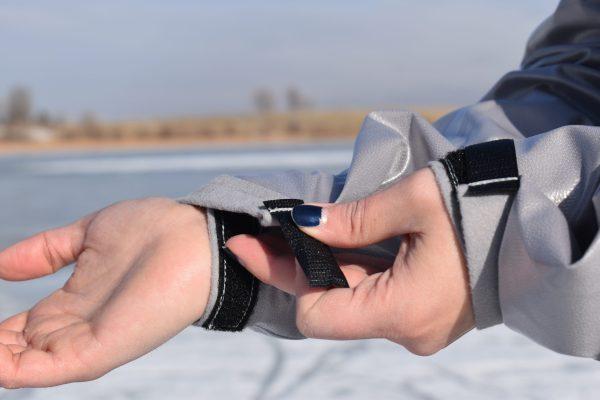vapor barrier shirt velcro wrist strap