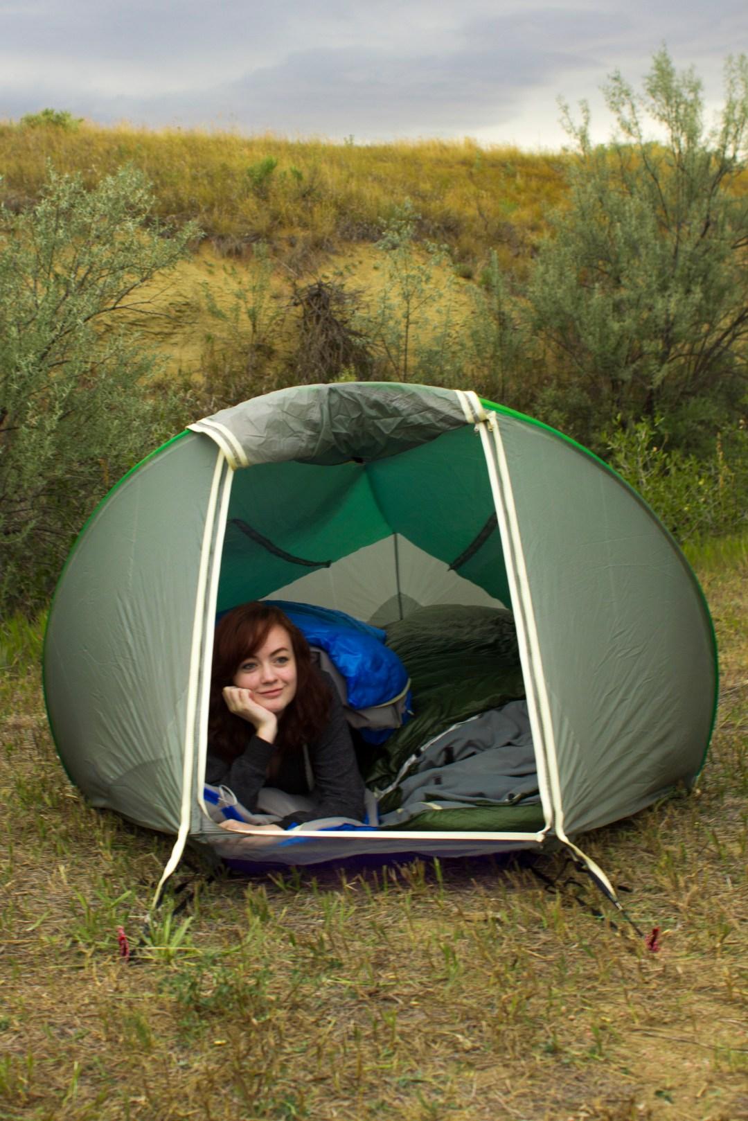 two person four season tent warmlite