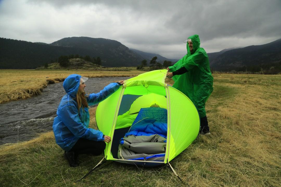 2 person tent 4 season warmlite scene
