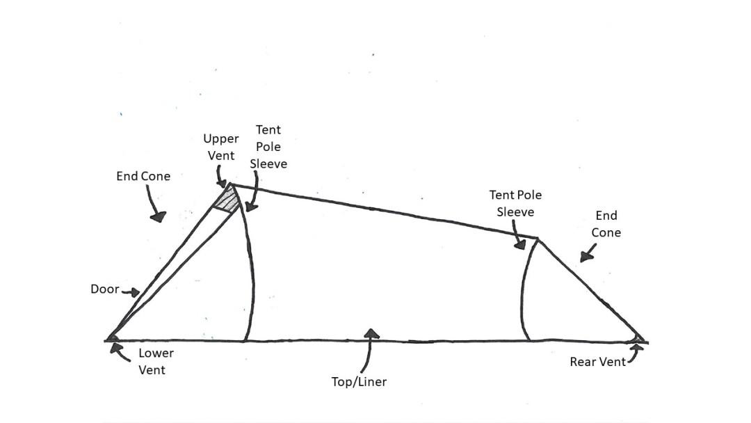 2 person tent diagram warmlite