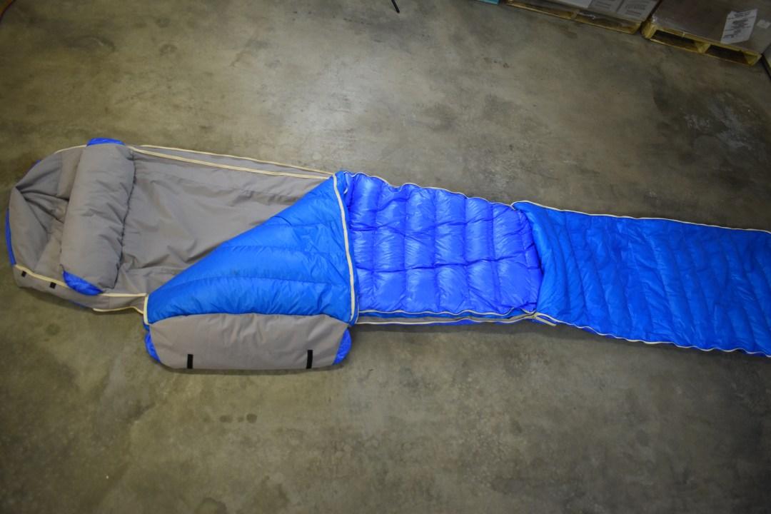 minus 60 degree sleeping bag warmlite 3 layers