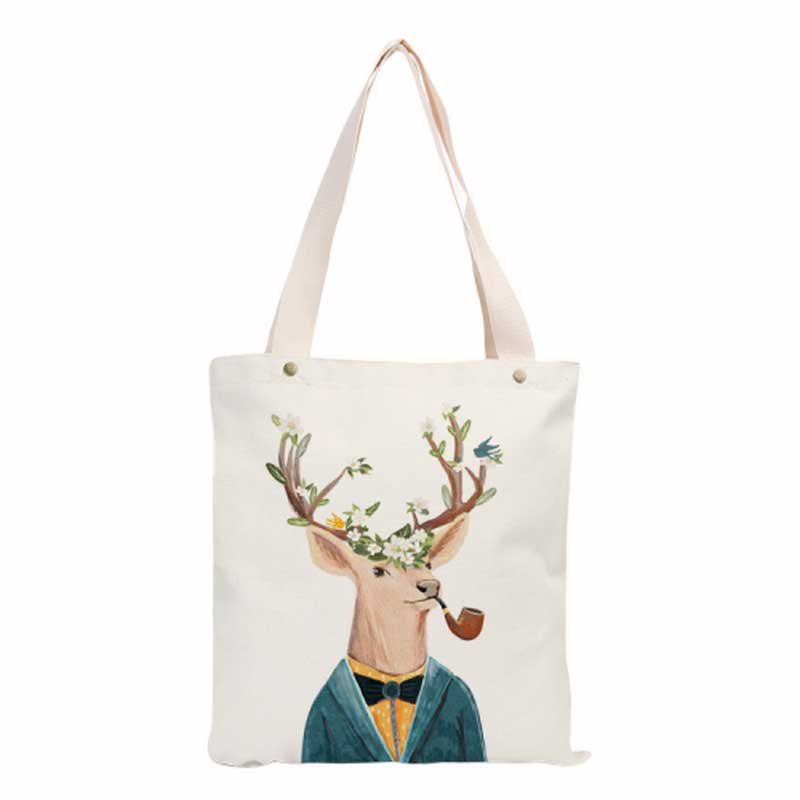 (Gift for Membership Cumulative Purchase Over $199) Canvas Shopping Bag