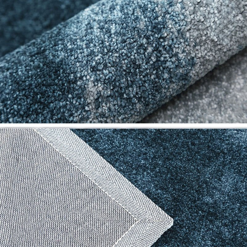 Gradient Color Floor Cover Modern Area Rugs