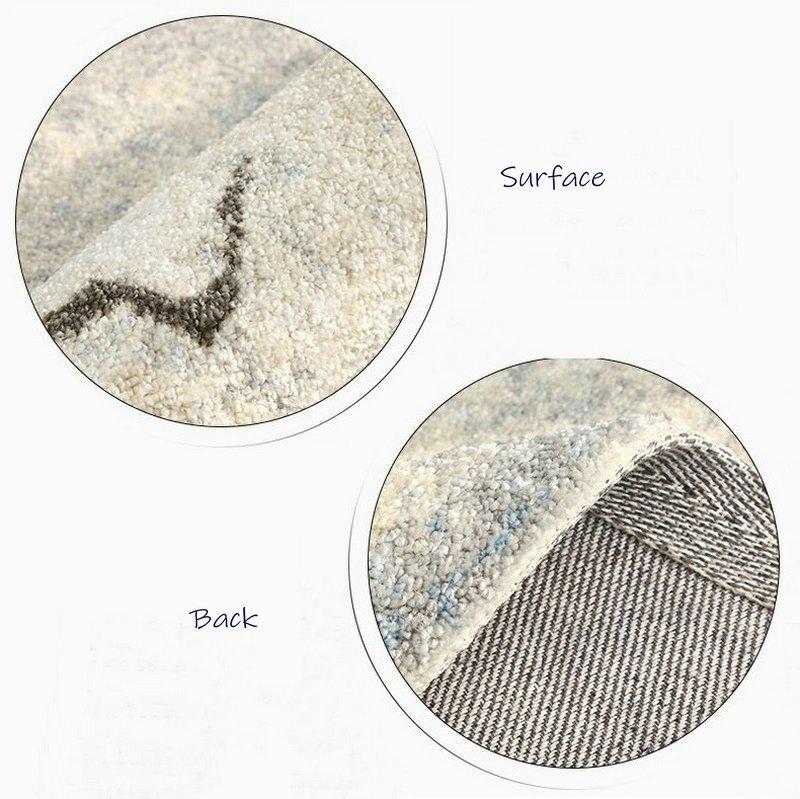 Natural Inspiration Round Gradient Carpet