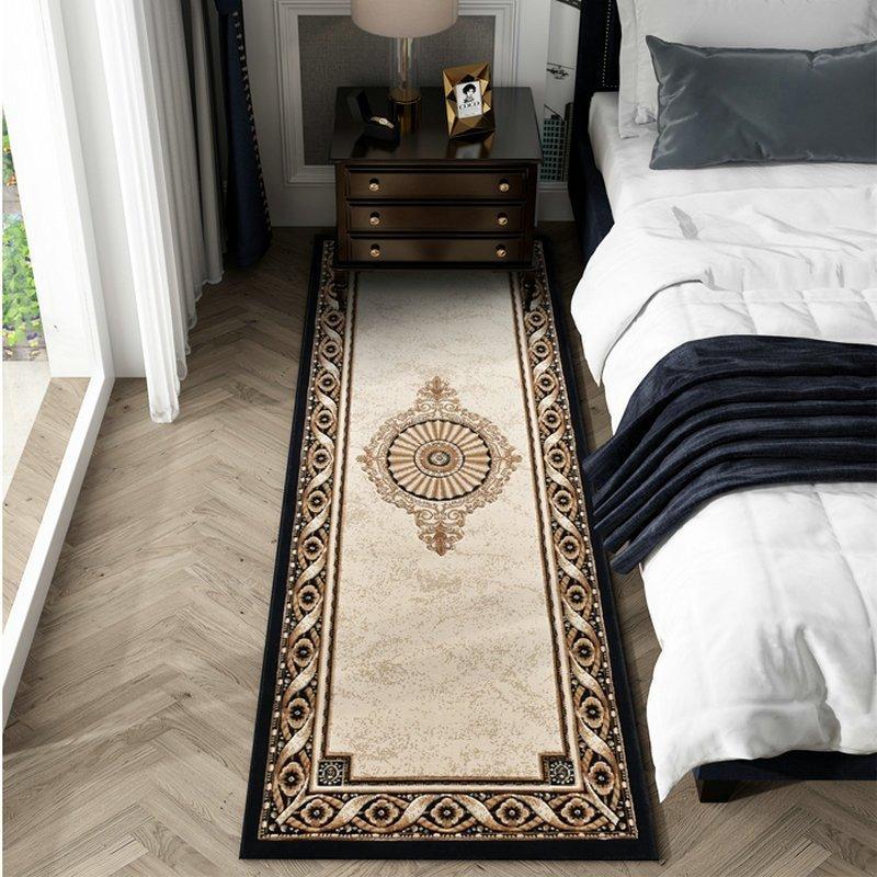 Thickening Luxury Bedroom Bedside Rugs