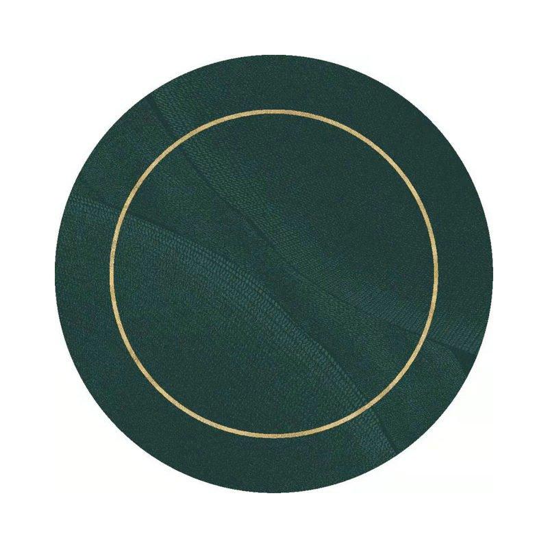 Modern Design Green Round Rugs