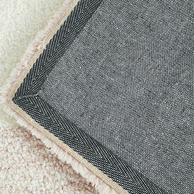 Pink Grey Gradient Plush Rugs