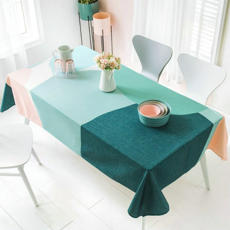 Summer Theme Colorful Table Cloth