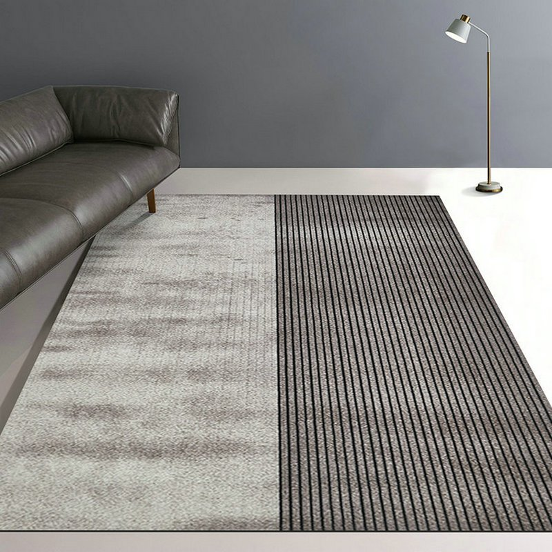 Simple American Design Area Lined Rugs Warmly Home