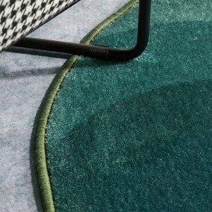 Profiled Design Spiral Area Rug