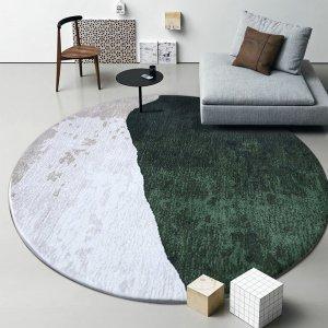 Original Design Mountain and Sea Circle Rugs