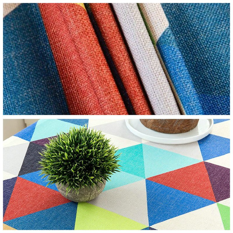 Colorful Decor Dining Table Cover