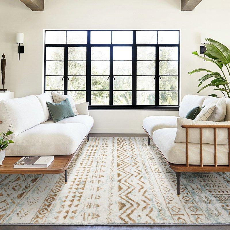 Home Interior Decor Fluffy Area Rugs