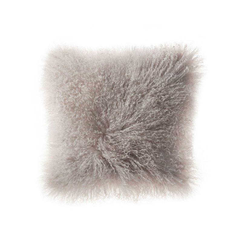 Decorative Fur Cushion Throw Sheepskin Pillow