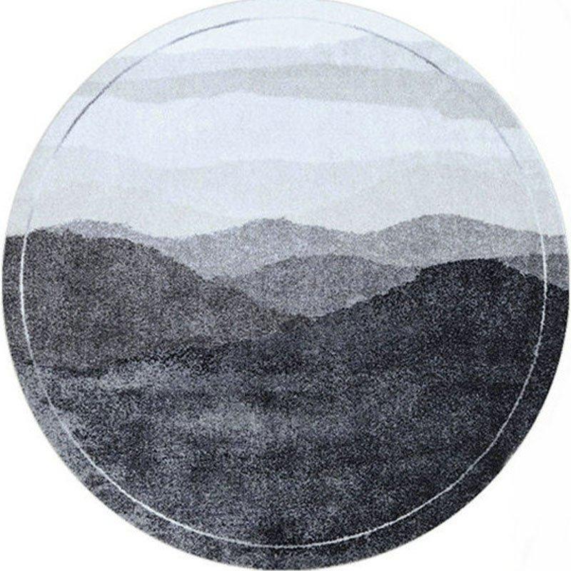 Contemporary Round Carpet