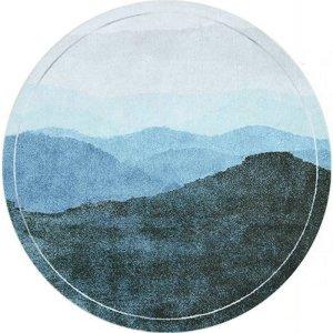 Round Oriental Rug