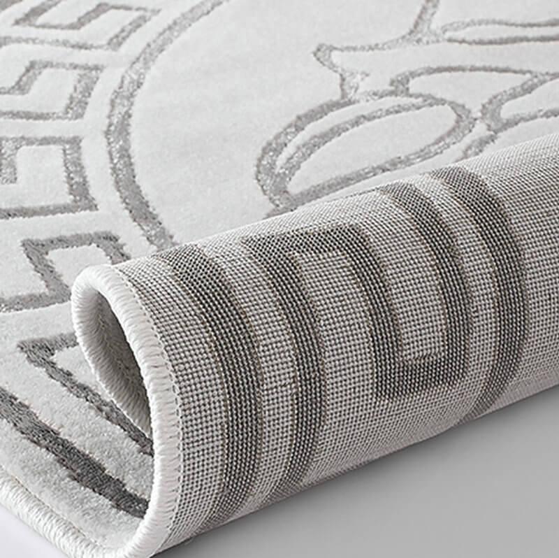 round carpet rug
