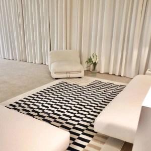 Checkerboard Area Rug