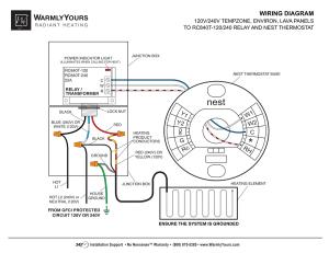 NESTINTEGWDA   Nest Integration Wiring Diagram and