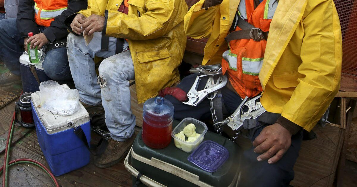 lunch image - Best Lunch Cooler for Construction Workers