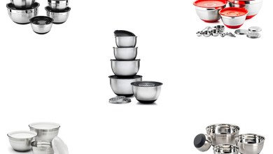 Best Stainless Steel Mixing Bowl Set Review