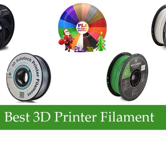 Best 3D Printer Filament Review