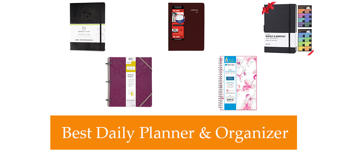 top 10 best daily planners organizers in 2018 warmreviews