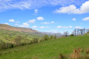 a special place to stay overlooking the Black Mountains