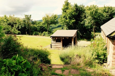 Wood shed and shelter