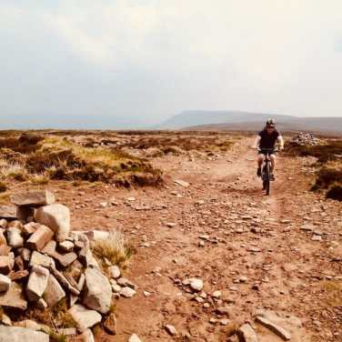 Mountain biking the Black Mountains
