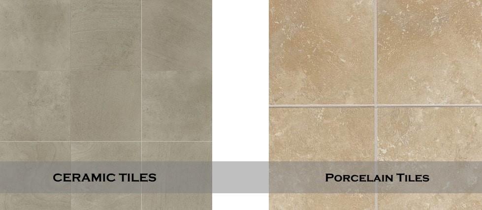 porcelain vs ceramic tiles for floor