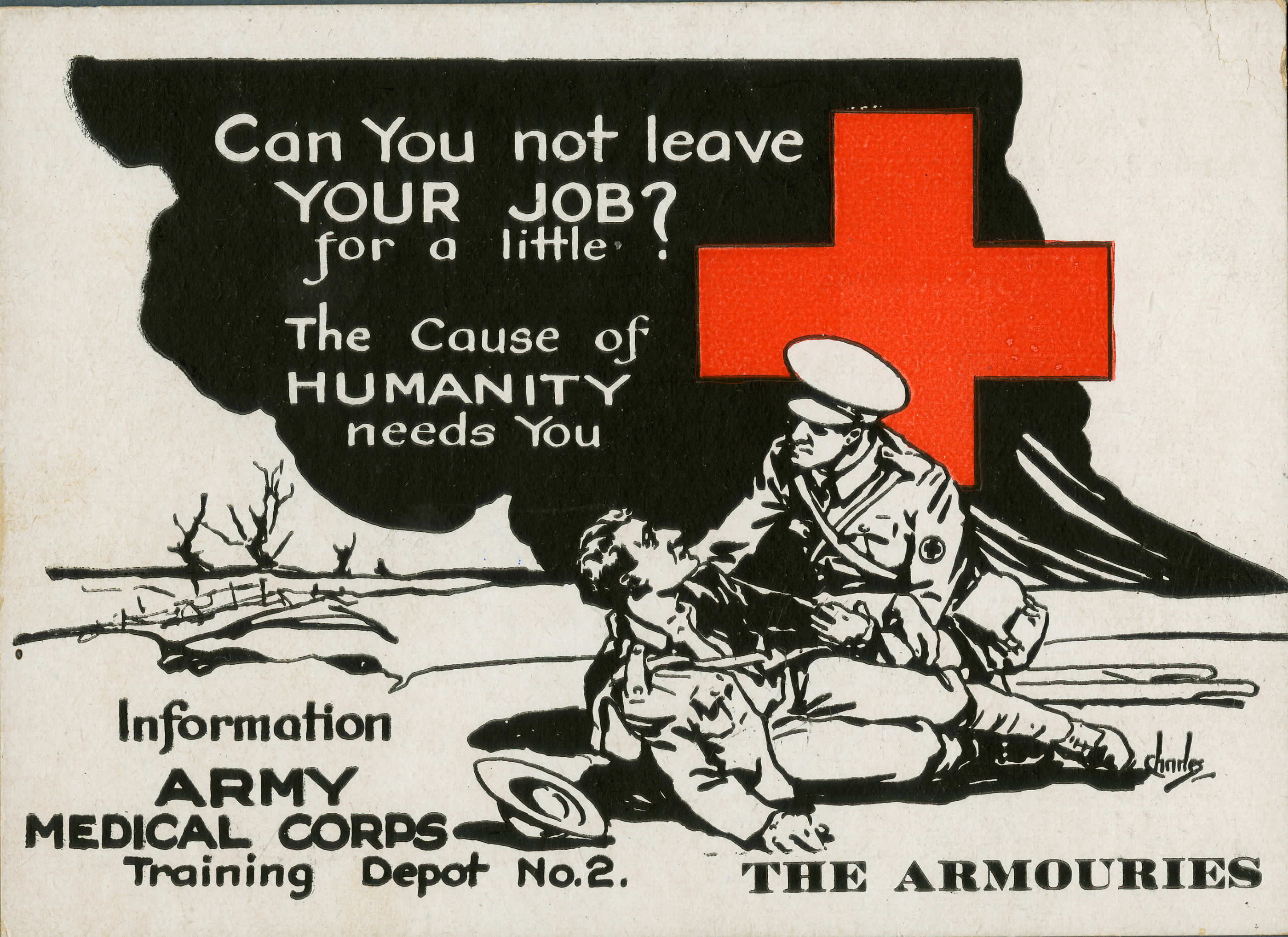 Military Documents Recruiting For The Medical Corps