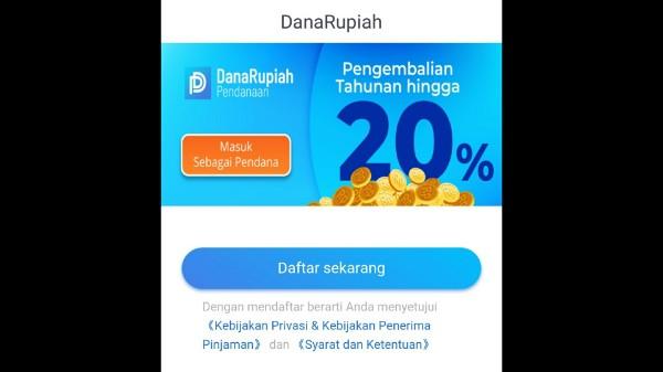 Panduan Pendaftaran Aplikasi Dana Rupiah