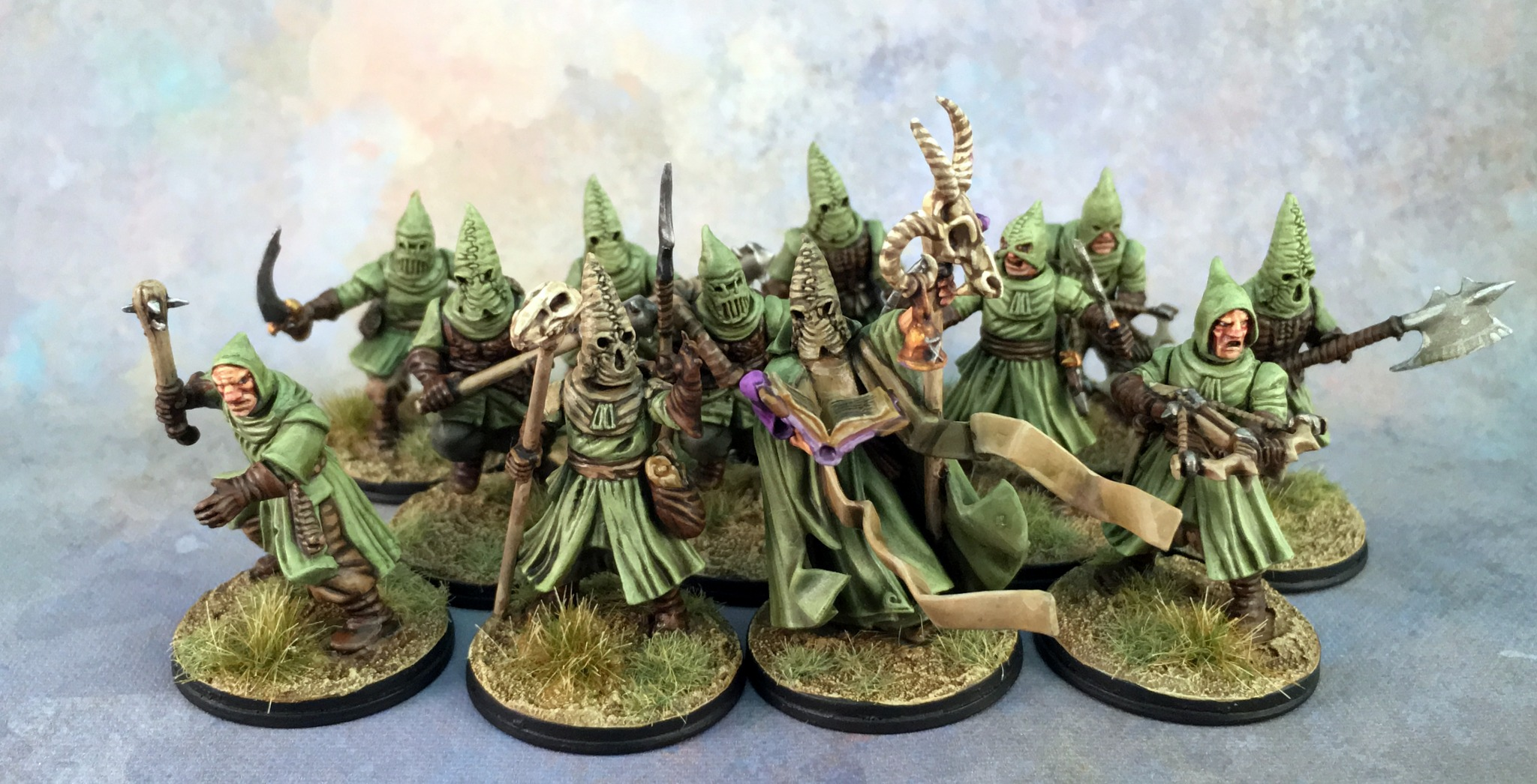 Frostgrave - Cultists Group 1
