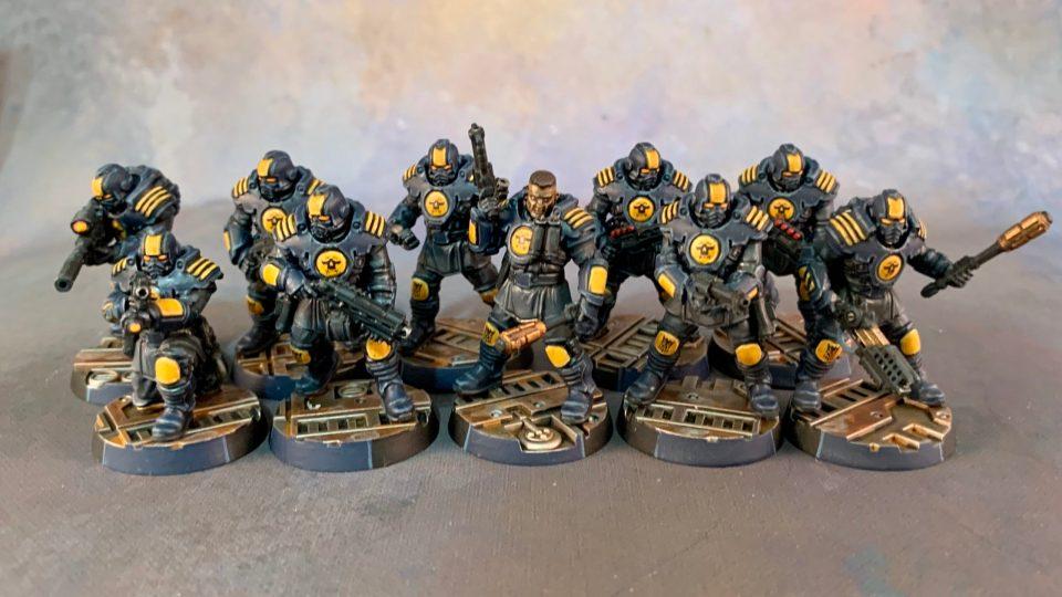 Necromunda - Palanite Enforcers