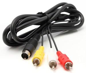 Genesis Model 2 Composite AV Cable