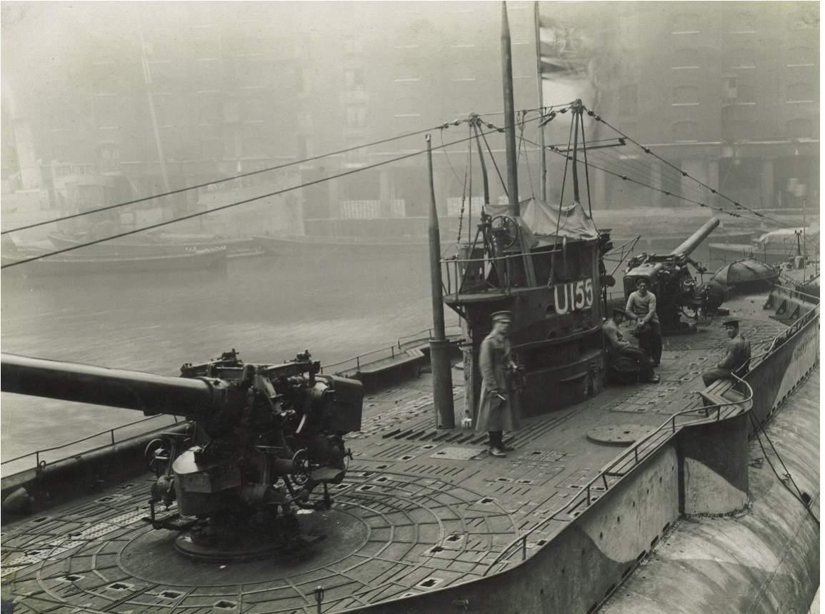 Cargo Submarine U Deutschland Artifacts And Model