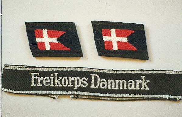 Billedresultat for frikorps danmark emblem