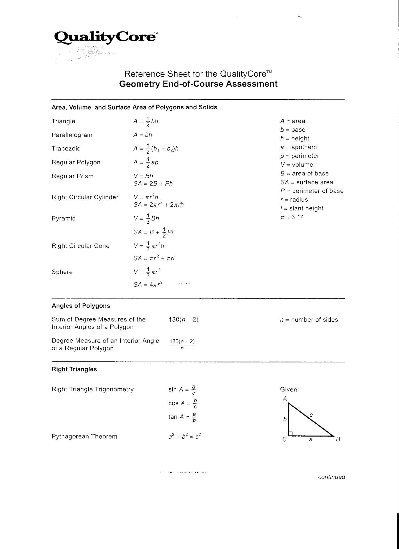 Geometry Eoc Help